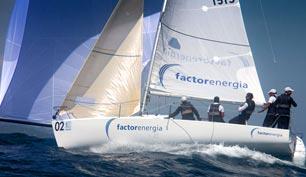 Barco regata de Factor Energía