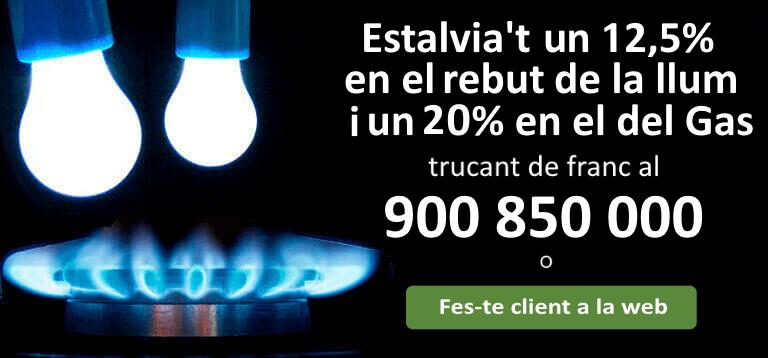 Estalviar a la factura de la llum i del gas
