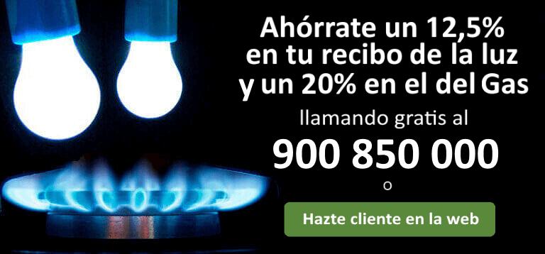 ahorrar en la factura de la luz y gas