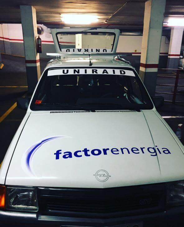 uniraid coche factor energia
