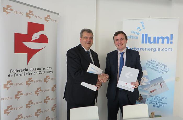 Acuerdo Factor Energia FEFAC