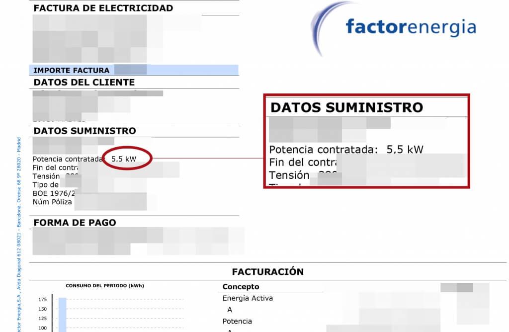 factura factorenergia