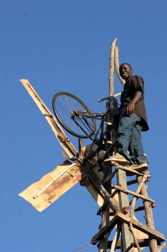 boy harnessed the wind