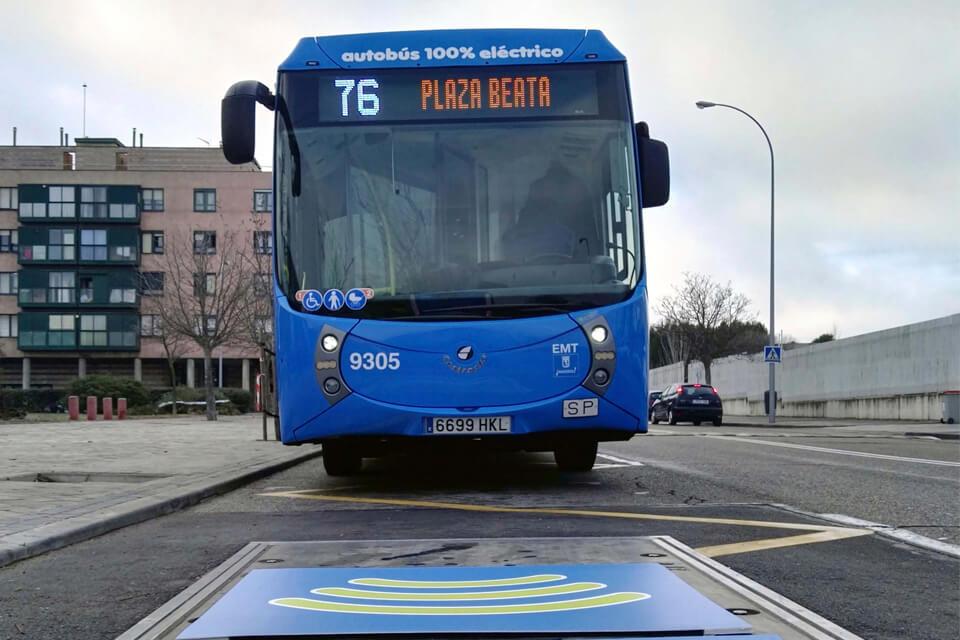 autobús eléctrico Madrid