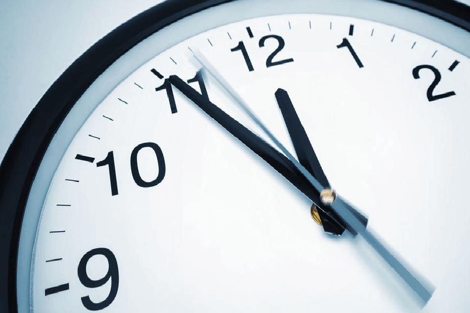 Discriminación horaria reloj