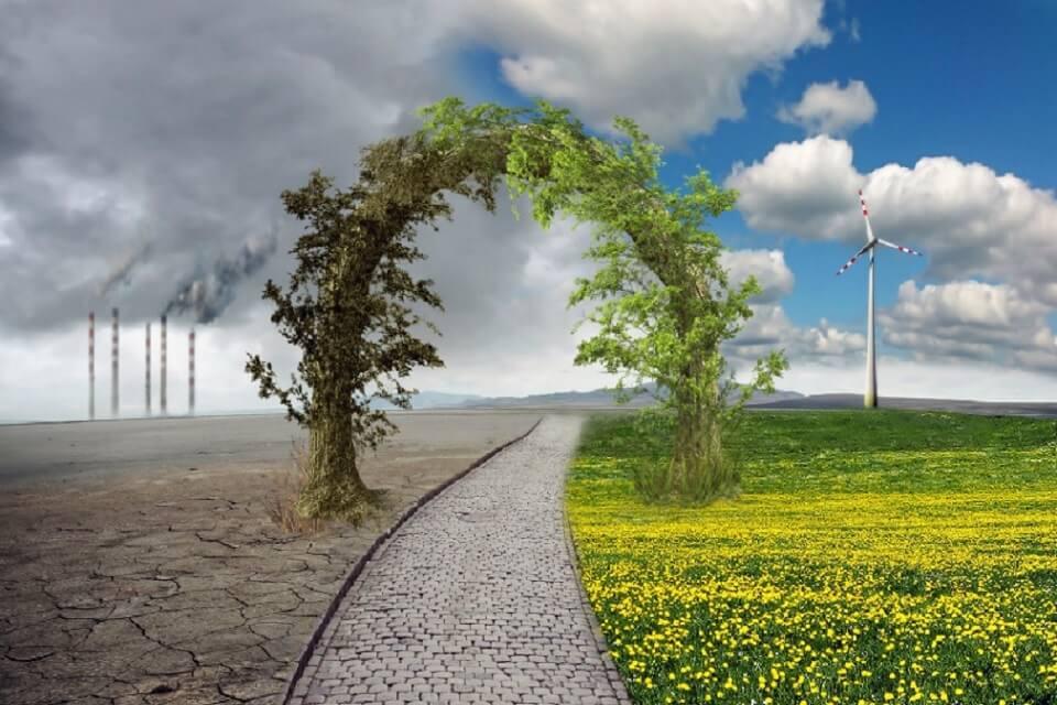 El canvi climàtic dispara el preu de la llum