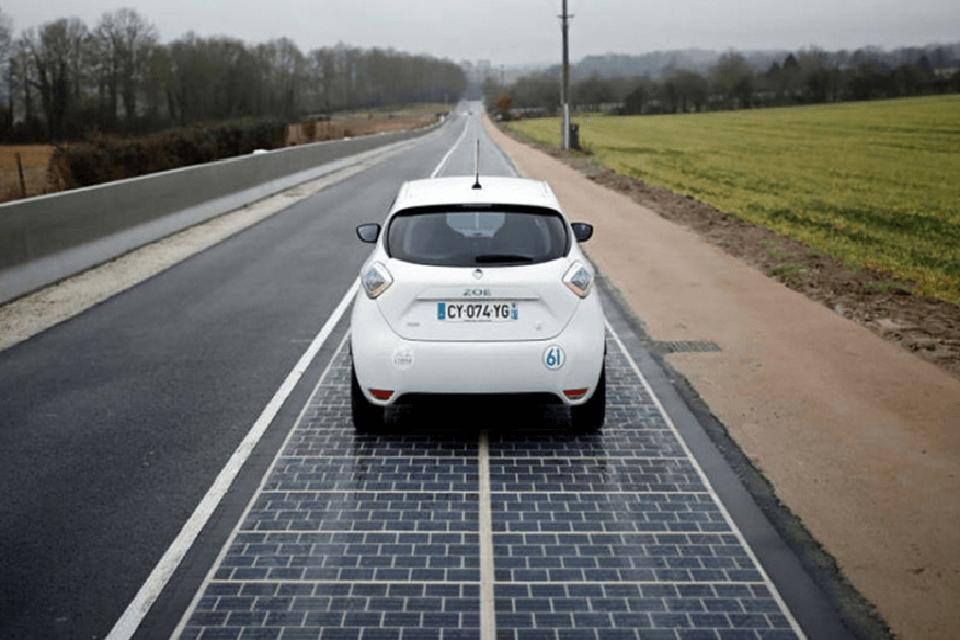 carretera carrega cotxe electric