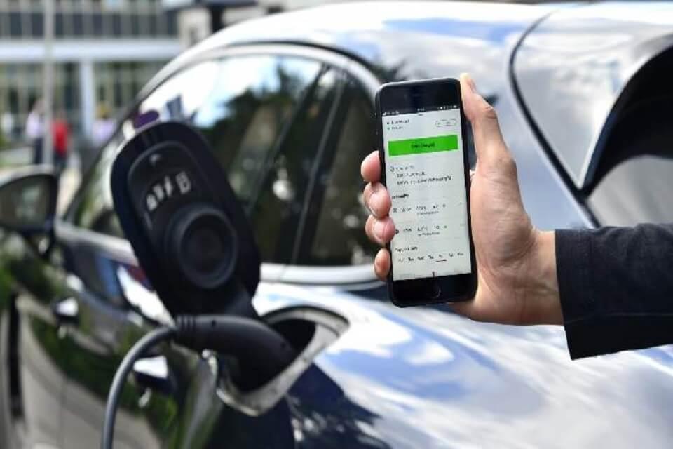 App recarga vehículo eléctrico