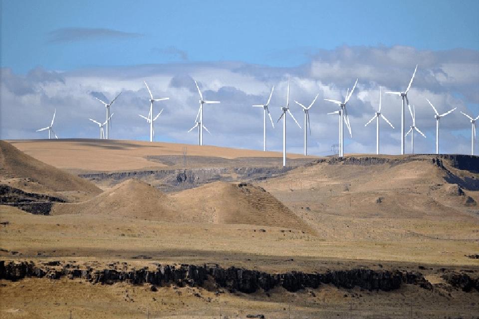 Generación de energía a través de viento