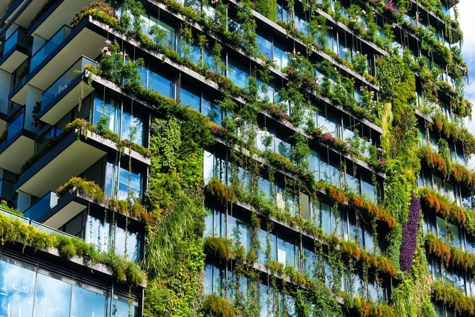 edifici verd