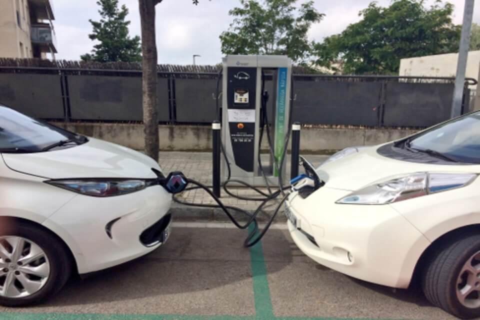 Puntos de recarga para coche eléctrico en Barcelona