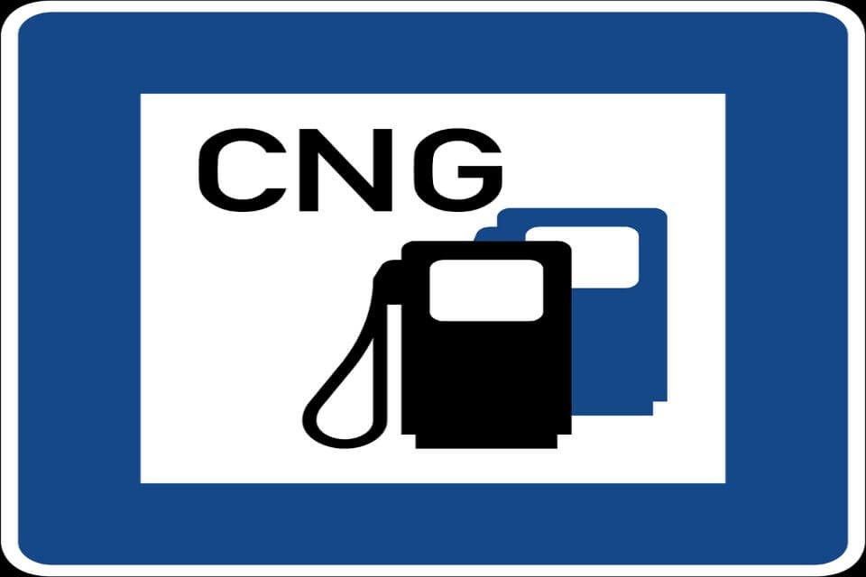 Gas natural comprimit