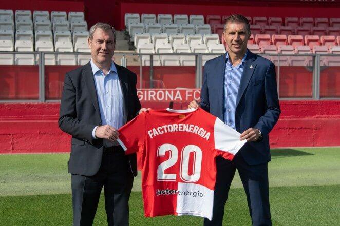 Factorenergia se convierte en Partner Energético del Girona FC