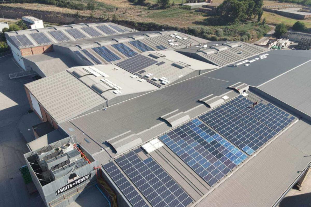 Instalación fotovoltaica: Fruits de Ponent