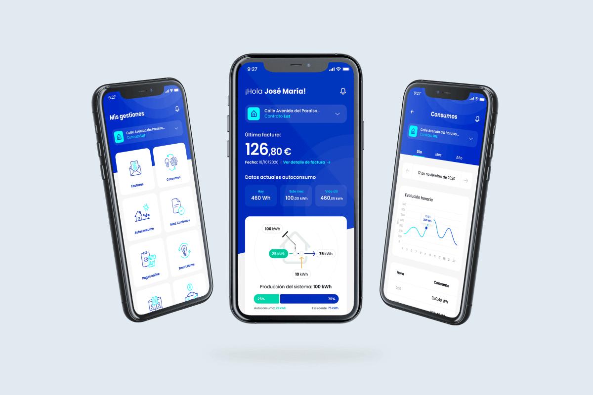 nueva app de factorenergia