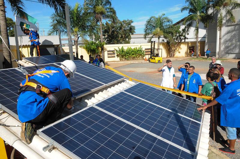 sustituir placa solar